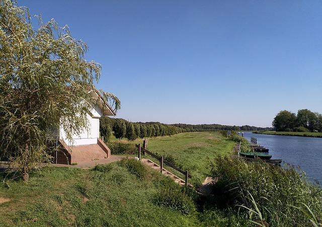 Fietstocht langs de IJssel bij Laag - Keppel